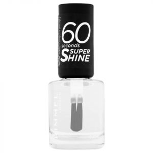 Rimmel 60 Seconds Super Shine Nail Polish 8 Ml Various Shades Clear
