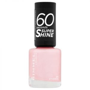Rimmel 60 Seconds Super Shine Nail Polish 8 Ml Various Shades Ethereal Nude