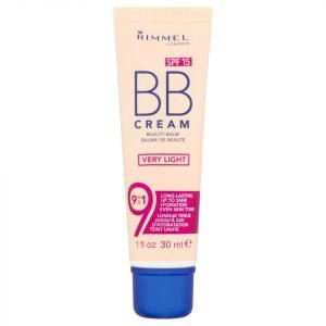 Rimmel 9-In-1 Super Make-Up Bb Cream 30 Ml Various Shades Very Light