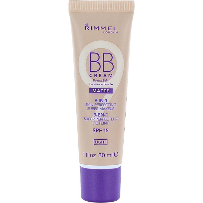 Rimmel BB Cream 9 In 1 SPF15 Matte Light 30ml