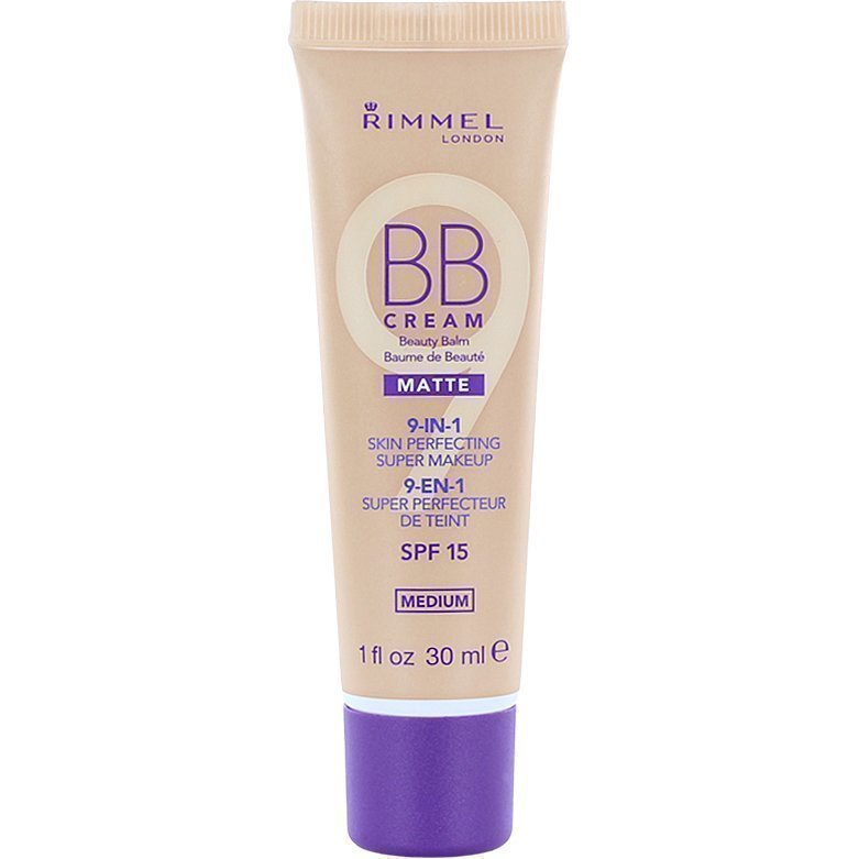Rimmel BB Cream 9 In 1 SPF15 Matte Medium 30ml