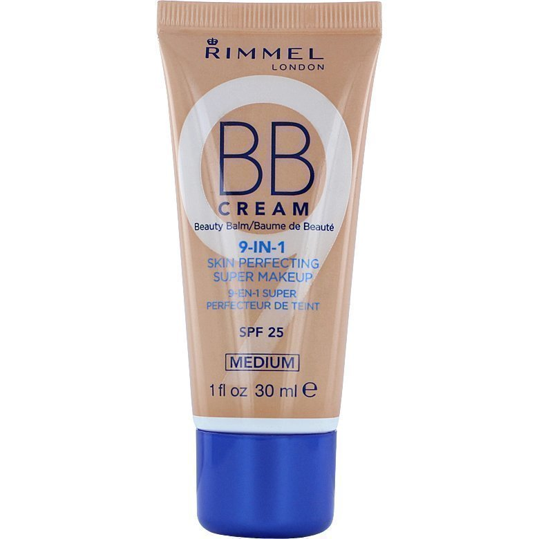 Rimmel BB Cream 9 In 1 SPF25 Medium 30ml