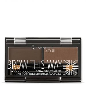 Rimmel Brow This Way Eyebrow Kit 003 Dark Brown