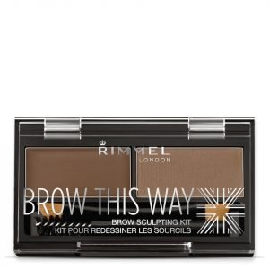 Rimmel Brow This Way Eyebrow Kit Medium Brown