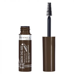 Rimmel Brow This Way With Argan Oil 5 Ml Various Shades Medium Brown