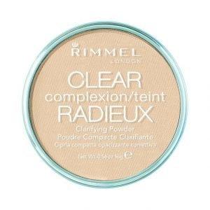 Rimmel Clear Complexion Clarifying Puuteri 16 g