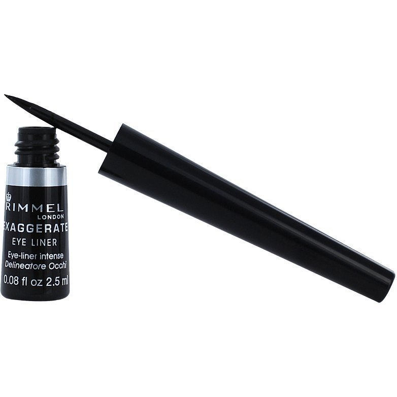 Rimmel Exaggerate Liquid Eye Liner 001 100% Black 2
