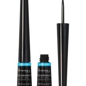 Rimmel Exaggerate Waterproof Liquid Eyeliner Nestemäinen Silmänrajauskynä