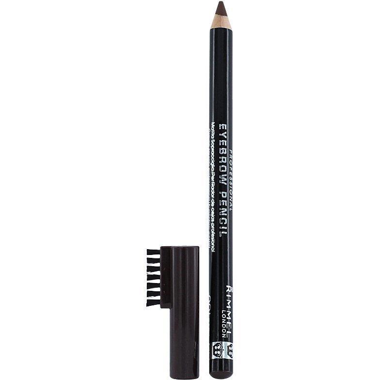 Rimmel Eyebrow Pencil 001 Dark Brown 1