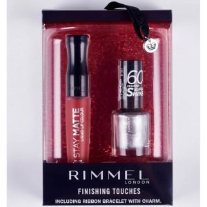 Rimmel Finishing Touches Gift Set 60 Seconds Np And Stay Matte Ll