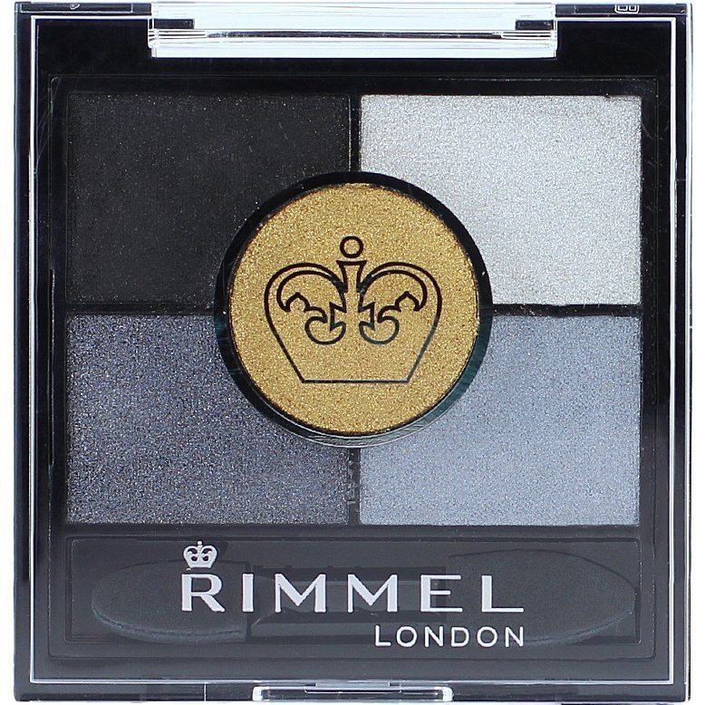 Rimmel Glam Eyes HD 5-Colour Eyeshadow 021 Golden Eye 3