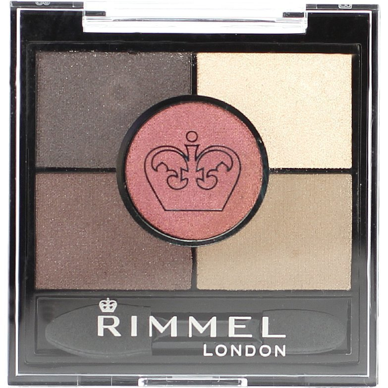Rimmel Glam Eyes HD 5-Colour Eyeshadow 022 Brixton Brown 3