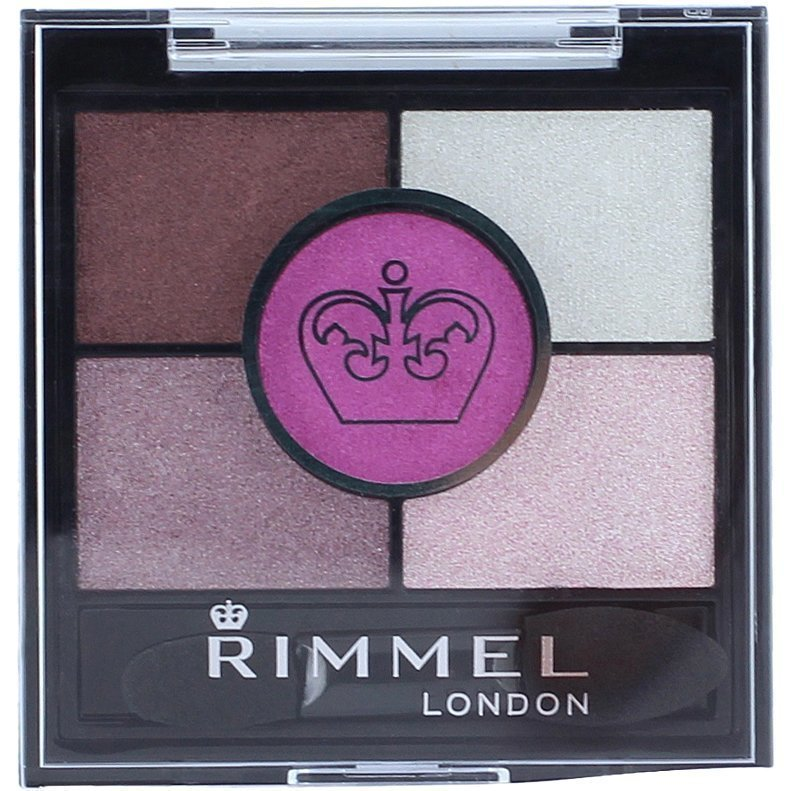 Rimmel Glam Eyes HD 5-Colour Eyeshadow 024 Pinkadilly Circus 3