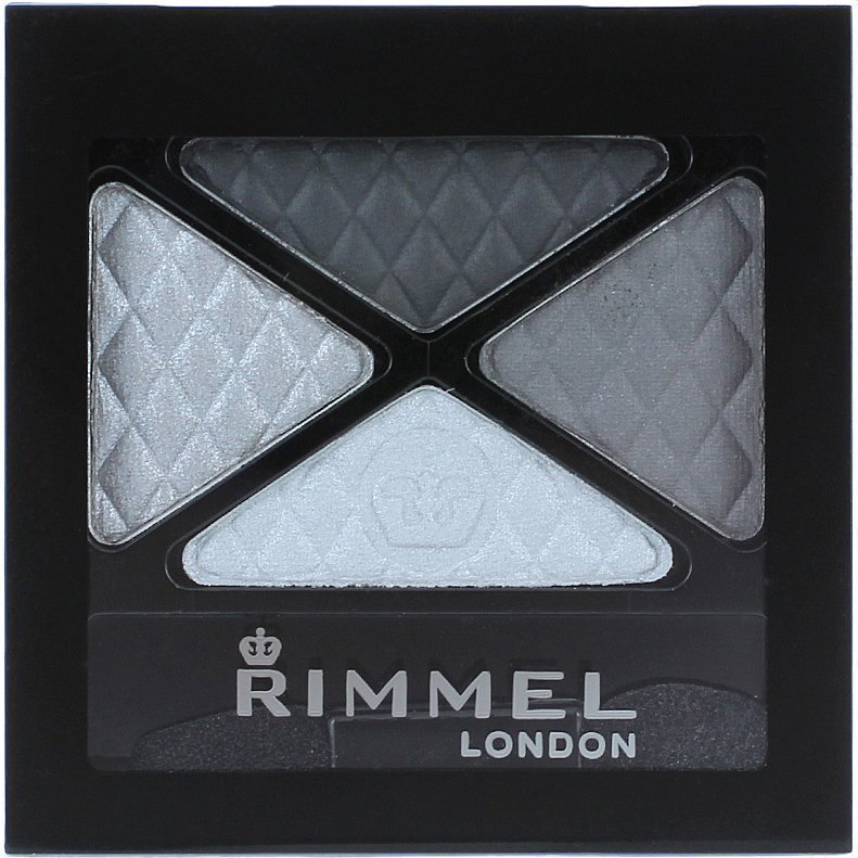 Rimmel Glam Eyes Quad Eyeshadow 001 Smokey Noir 4