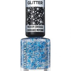 Rimmel Glitter Medium Coverage Kynsilakka Glitter Fingers