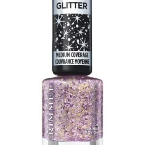 Rimmel Glitter Medium Coverage Kynsilakka Sparkle Every Day