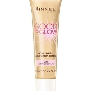 Rimmel Good To Glow Korostusvoide 25 ml Notting Hill Glow