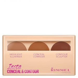 Rimmel Insta Conceal And Contour Palette 7g Various Shades Dark