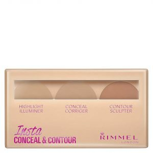 Rimmel Insta Conceal And Contour Palette 7g Various Shades Light