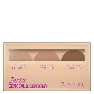 Rimmel Insta Conceal And Contour Palette 7g Various Shades Medium