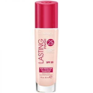 Rimmel Lasting Finish 25 Hour Foundation With Comfort Serum 30 Ml Various Shades Light Porcelain