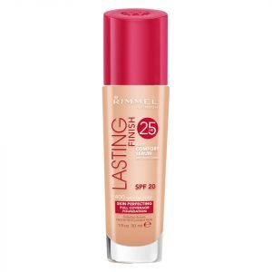 Rimmel Lasting Finish 25 Hour Foundation With Comfort Serum 30 Ml Various Shades Natural Beige