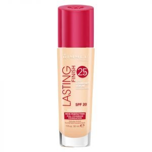 Rimmel Lasting Finish 25 Hour Foundation With Comfort Serum 30 Ml Various Shades True Ivory