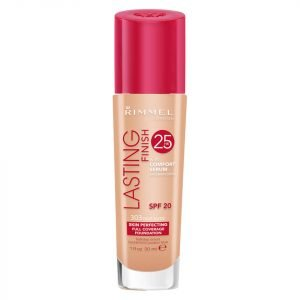 Rimmel Lasting Finish 25 Hour Foundation With Comfort Serum 30 Ml Various Shades True Nude