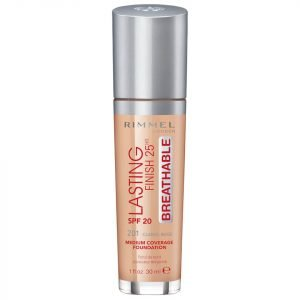 Rimmel Lasting Finish Breathable Foundation 30 Ml Various Shades Classic Beige