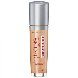 Rimmel Lasting Finish Breathable Foundation 30 Ml Various Shades True Nude