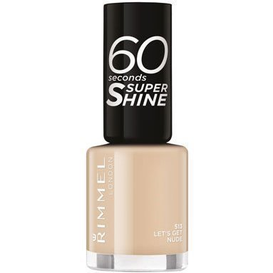 Rimmel London 60 Seconds Super Shine Let's Get Nude