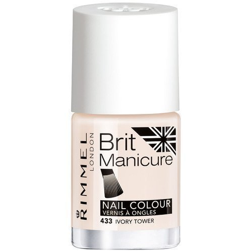 Rimmel London Brit Manicure Nail Colour 433 Ivory Tower