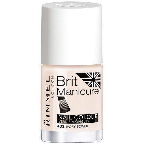 Rimmel London Brit Manicure Nail Colour 433 Ivory Tower