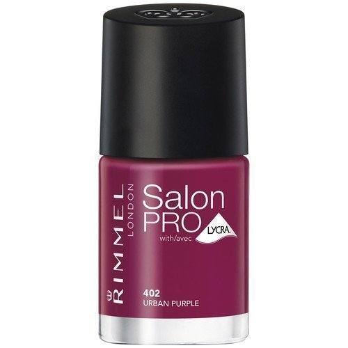 Rimmel London Salon Pro Nail Polish 402 Urban Purple