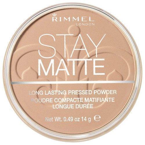 Rimmel London Stay Matte Long Lasting Pressed Powder 004 Sandstorm