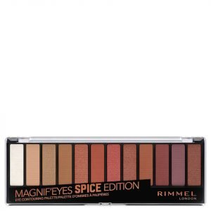 Rimmel Magnif'eyes 12 Pan Shade Palette 14g Spice