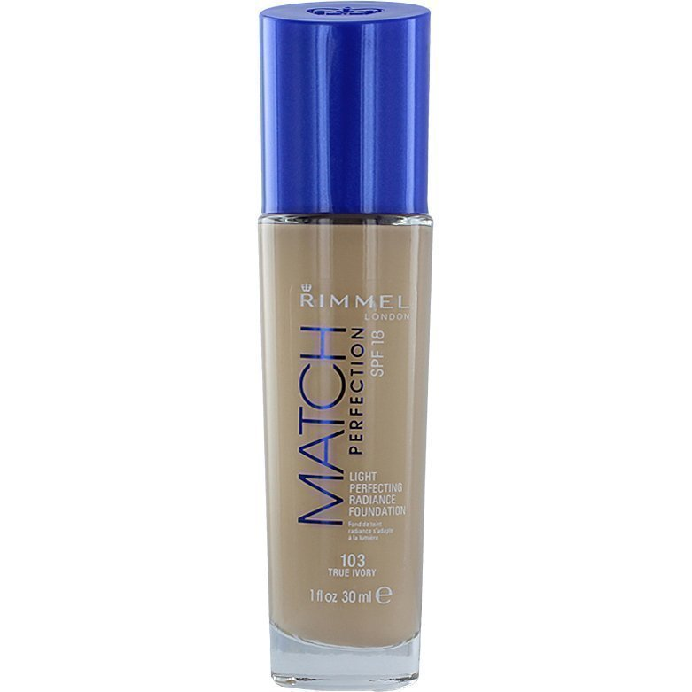 Rimmel Match Perfection Foundation 103 True Ivory 30ml