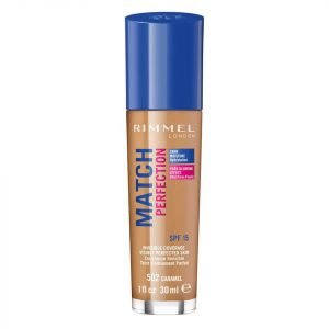 Rimmel Match Perfection Foundation 30 Ml Various Shades Caramel