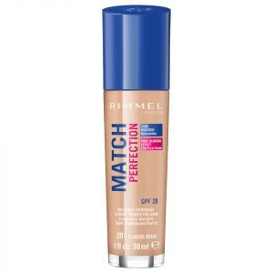 Rimmel Match Perfection Foundation 30 Ml Various Shades Classic Beige