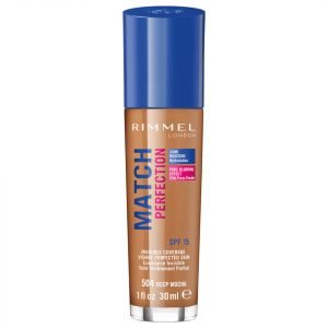 Rimmel Match Perfection Foundation 30 Ml Various Shades Deep Mocha