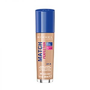 Rimmel Match Perfection Foundation 30 Ml Various Shades Warm Honey