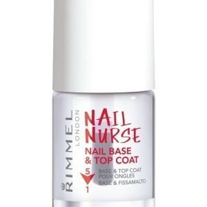 Rimmel Nail Nurse Base & Top Coat 5 In 1 Päällyslakka 12 ml