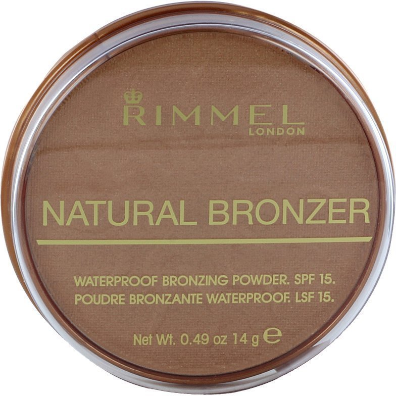 Rimmel Natural Bronzer Waterproof SPF15 020 14g