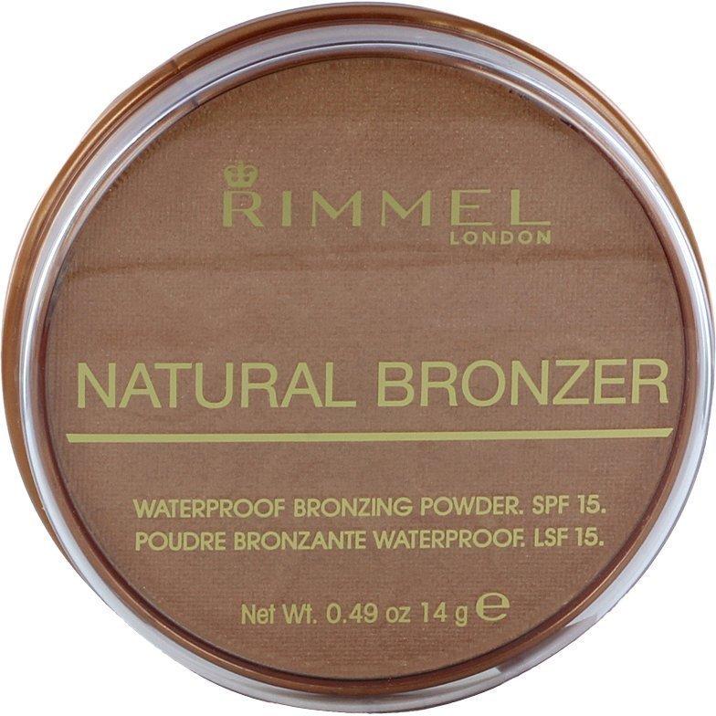Rimmel Natural Bronzer Waterproof SPF15 020 14g