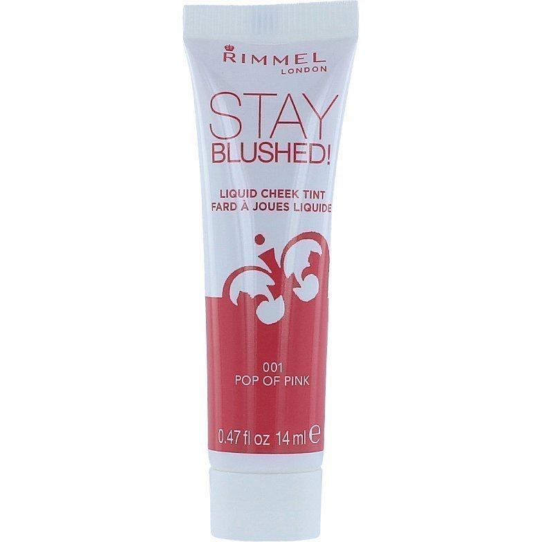 Rimmel Stay Blushed Liquid Cheek Tint 001 Pop Of Pink 14ml