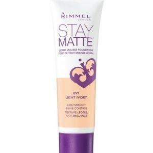 Rimmel Stay Matte Liquid Mousse Foundation Meikkivoide 30 ml
