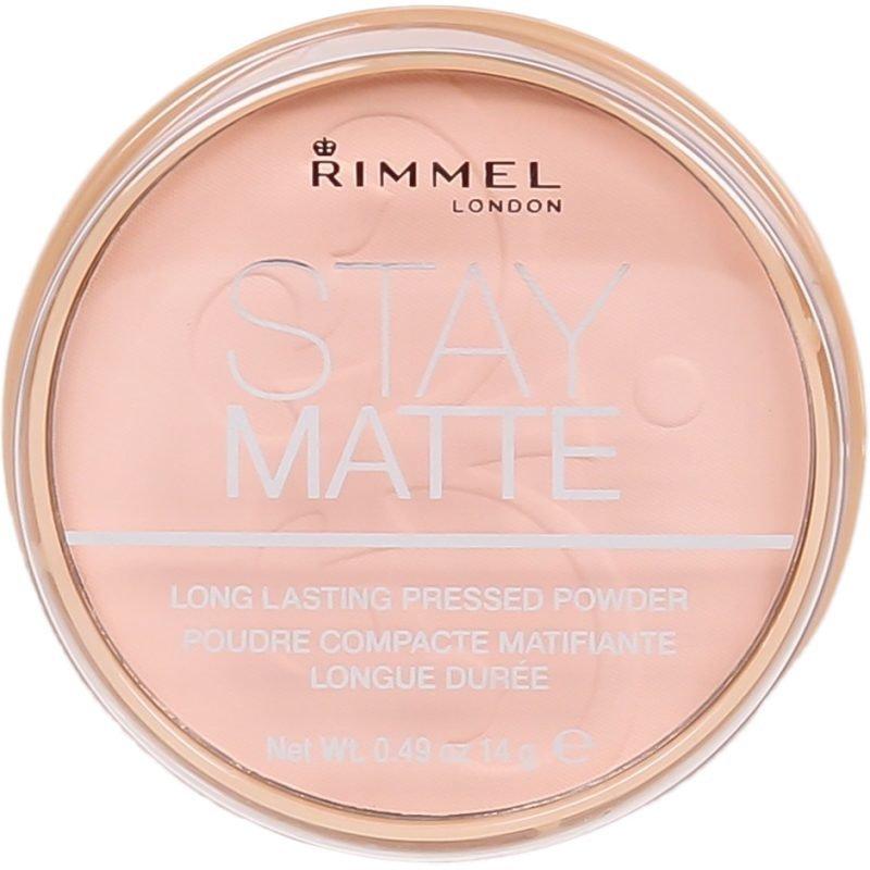 Rimmel Stay Matte Pressed Powder 002 Pink Blossom 14g