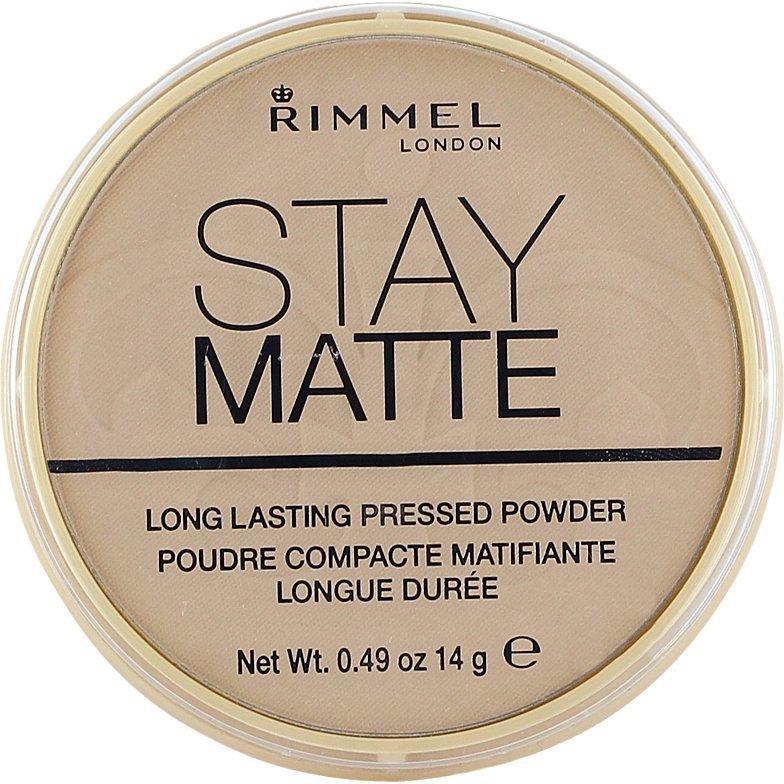 Rimmel Stay Matte Pressed Powder 005 Silky Beige 14g