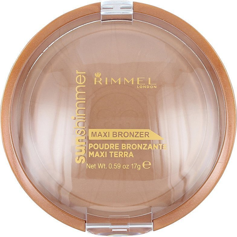 Rimmel Sun Shimmer Maxi Bronzer Powder 002 Sun Love 17g