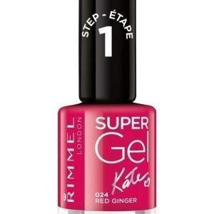Rimmel Super Gel Kynsilakka Red Ginger By Kate